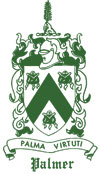 The Palmer family crest